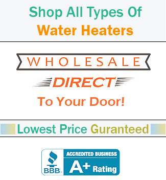 Non condensing tankless water heaters, product specifications, parts, and accessories
